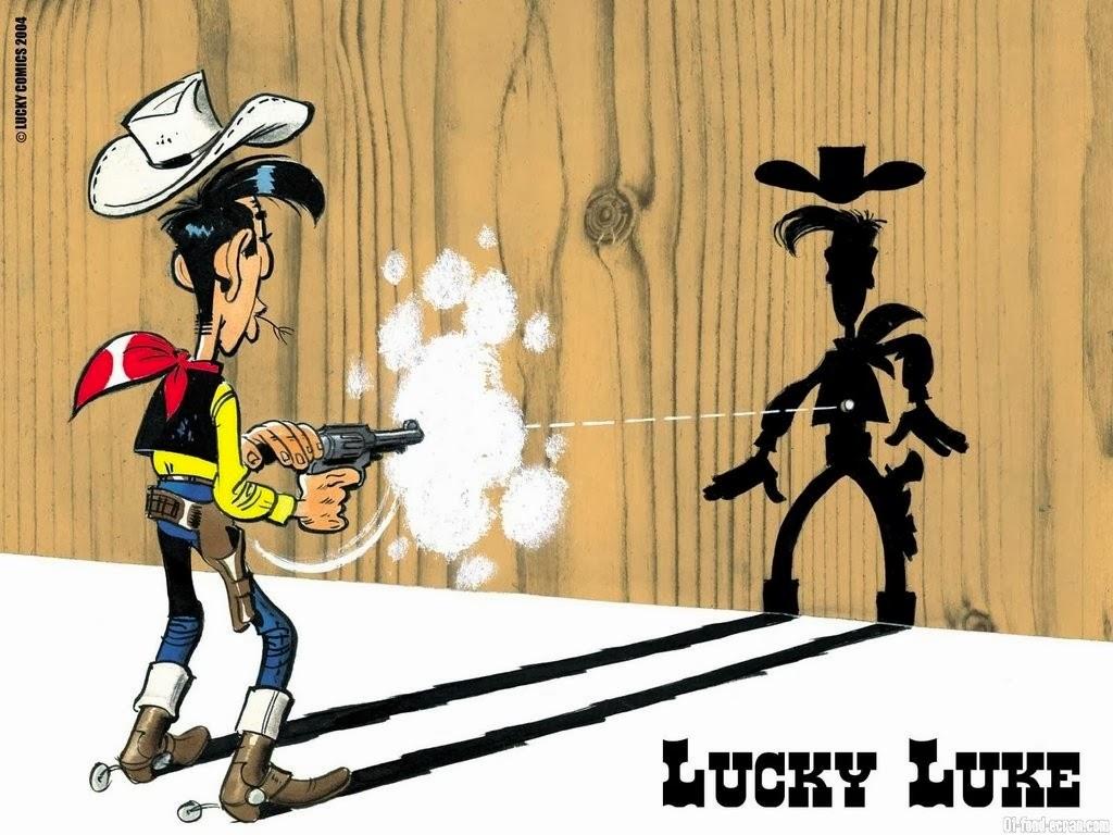 Λούκυ Λουκ : Πιο Γρήγορος Κι Από Τη Σκιά Του